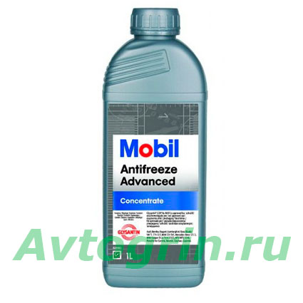 Антифриз MOBIL (красный) Advanced (концентрат) 1 л